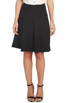 Crepe A-Line Skirt