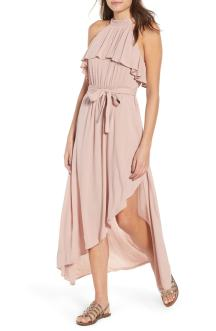 Misty Asymmetrical Dress Deauville Mauve