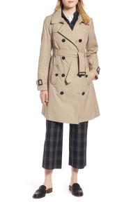 Trench Coat with Vest